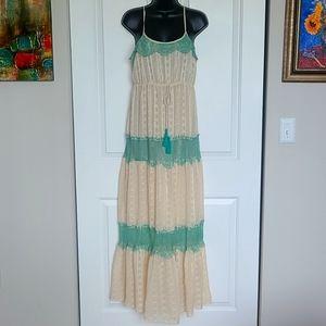 Deja vu maxi dress Size S
